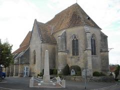 Eglise - Français:   église de Bitry