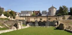 Eglise clunisienne Saint-Laurent - Deutsch: Ruine von St. Laurent in La Charité-sur-Loire.