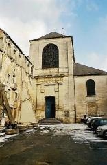 Eglise priorale Sainte-Croix - Deutsch: Die barocke Westfassade von 1695