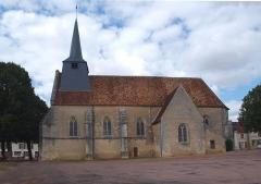 Eglise - Ciez (Nièvre, France) , l'église.