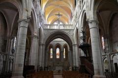 Eglise Saint-Martin (ancienne collégiale) - Nederlands: Collegiale Sint-Martinus van Clamecy (Yonne) - doksaal, koor en triforium