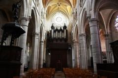 Eglise Saint-Martin (ancienne collégiale) - Nederlands: Collegiale Sint-Martinus van Clamecy (Nièvre) - orgel Aristide Cavaillé-Coll