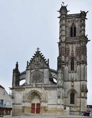 Eglise Saint-Martin (ancienne collégiale) - Nederlands: Collegiale Sint-Martinus van Clamecy, Frankrijk