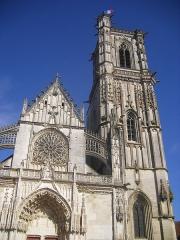 Eglise Saint-Martin (ancienne collégiale) -  Collégiale Saint-Martin de Clamecy