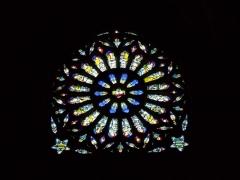 Eglise Saint-Martin (ancienne collégiale) - Vitrail de la collégiale St-Martin de Clamecy (Nièvre)