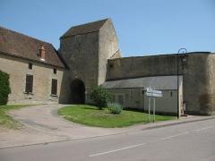 Ancienne abbaye bénédictine Saint-Léonard - Français:   Abbaye St Leonard a Corbigny, Nièvre, France
