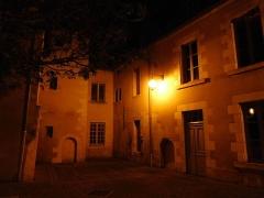 Couvent des Augustins - Français:   Musée de la Loire (angle), la nuit (Nièvre, France).