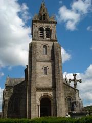 Eglise Sainte-Amélie - English: Dun-les-Places (Nièvre, Fr), church tower.
