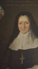 Abbaye Saint-Genest  ou ancienne abbaye Notre-Dame - Claire de Saillans, abbesse de l'abbaye royale de Nevers, soeur du comte de Saillans