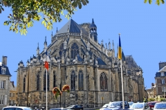 Cathédrale Saint-Cyr et Sainte-Julitte - Deutsch: Kathedrale Nevers, Ostchorhaupt