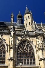 Cathédrale Saint-Cyr et Sainte-Julitte - Deutsch: Kathedrale Nevers, Kapelle Langhaus-Südseite