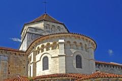 Eglise Saint-Etienne - Deutsch: St.-Etienne Nevers, Chorapsis