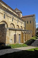 Eglise Saint-Etienne - Deutsch: Saint-Etienne Nevers, südliche Langhausseite