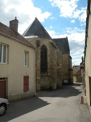 Eglise Saint-Amand - Français:   Chœur de l'église Saint-Amand de Saint-Amand-en-Puisaye.