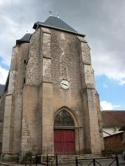 Eglise Saint-Amand - Français:   Église de Saint-Amand-en-Puisaye