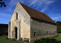 Commanderie de Villemoison - Français:   Chapelle de la commanderie des Templiers de Villemoison datée du 12ème siècle, située dans le département de la Nièvre.