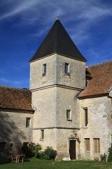 Commanderie de Villemoison - Français:   L\'escalier du logis des chevaliers.