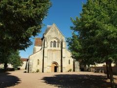 Eglise - Français:   Église Saint-Blaise-et-Saint-Véran de Saint-Vérain (Nièvre, France)
