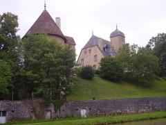 Château -  Le château de Châtillon-en-Bazois (France)