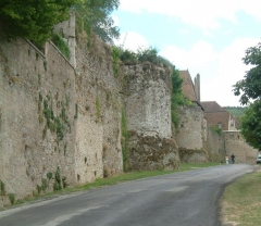 Remparts romains -  Remparts gallo-romain, Autun, Bourgogne, FRANCE