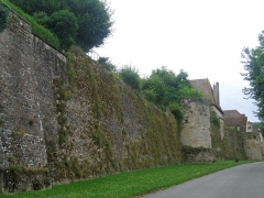Remparts romains -  Bourgogne Autun Mur Gallo-Romain 17072009