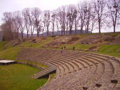 Théatre romain - Deutsch: Amphitheater, Autun