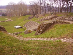 Théatre romain - Deutsch: Amphitheater, Autun