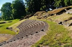 Théatre romain - Deutsch: Römisches Theater, Autun, Département Saône-et-Loire, Region Burgund (heute Burgund-Franche-Comté), Frankreich