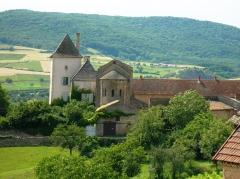 Château des Moines de Cluny -  Berzé-la-Ville, chapelle de moines