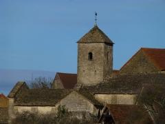 Eglise - Français:   Bissy-sur-Fley: l\'église vue du sud-est
