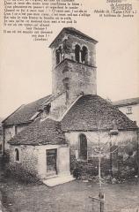 Eglise - Čeština: Bussières (Saône-et-Loire), kostel ze XII. stol. a hrob abbé Jocelyn Dumonta
