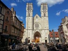 Cathédrale Saint-Vincent -  Cathédrale de Châlon-sur-Saône