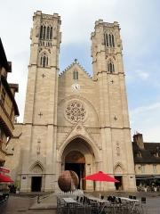 Cathédrale Saint-Vincent -  Cathédrale Saint-Vincent de Chalon-sur-Saône, Chalon-sur-Saône, Saône-et-Loire, France.