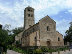 Eglise Saint-Martin -  Chapaize, église du SO)