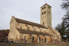 Eglise Saint-Martin -  Église Saint-Martin, Chapaize, Saône et Loire, Bourgogne, France