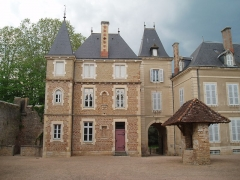 Château - English: La Chapelle de Bragyn Castle : XIXth Century part