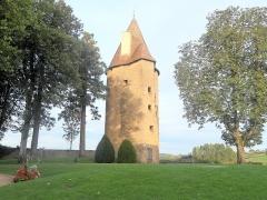 Château de Charles-Le-Téméraire -  Tour de Charles le Téméraire, Château de Charolles, Charolles, France (fr, en)