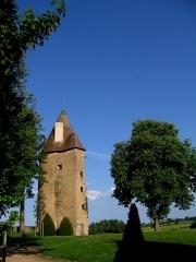 Château de Charles-Le-Téméraire -  Bourgogne Charolles Tour Temeraire 09052011