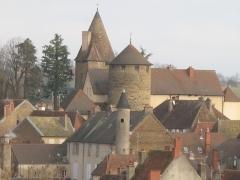 Château de Charles-Le-Téméraire -  Tour de Charles le téméraire (Saône-et-Loire)