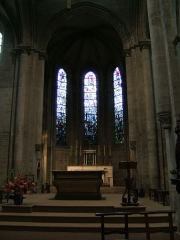 Eglise Notre-Dame -  Cluny, Parish Church, Choir
