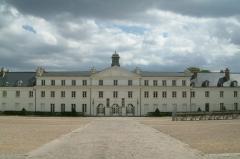 Château de la Verrerie - Château de la Verrerie, vue de la cour intérieure. Le Creusot, Bourgogne, FRANCE.