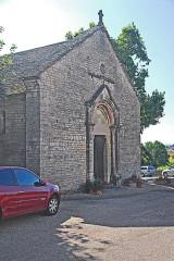 Eglise - Deutsch: St-Basrthélémy,Farges, Fassade mit Hauptportal