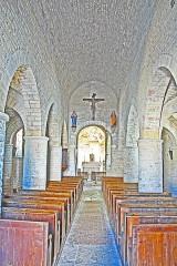 Eglise - Deutsch: St-Bathélémy, Farges, Mittelschiff