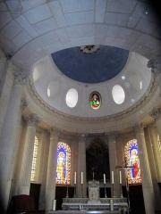 Eglise Saints-Pierre-et-Paul - Français:   La coupole du choeur repose sur des colonnes corinthiennes