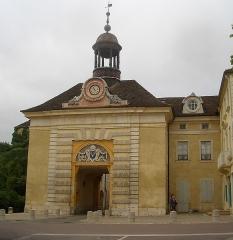 Hôtel de ville - Français:   Hôtel de ville de Givry, façade
