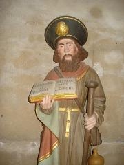 Eglise - English: St.Jacques le Majeur patron d'Issy-l'Évêque