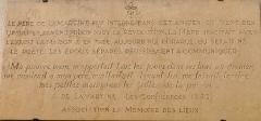 Couvent des Ursulines - Français:   Mâcon - Couvent des Ursulines - Plaque commémorative de Lamartine