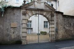 Couvent des Ursulines - Français:   Portail du couvent des Ursulines de Mâcon.