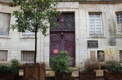 Hospice de la Charité - Français:   Entrée de l\'Hospice de la Charité de Mâcon.