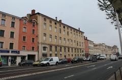 Hospice de la Charité - Français:   Hospice de la Charité de Mâcon vue depuis le quai Lamartine.